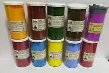 colori in polvere OSSIDI, TERRE,  PIGMENTI - VARI COLORI - 200 ml maimeri