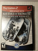 Medal of Honor: European Assault (Sony PlayStation 2, 2005) VIDEO GAME
