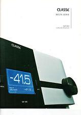 CLASSE Delta-Serie SSP-800 Surround Prozessor Katalog Heft  B1219