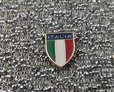 Pin's - Distintivo - Spilla scudetto Italia metallo dorato smaltato (ultimi 13)