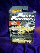 Hot Wheels Fast & Furious '70 Monte Carlo #4/6 Die-Cast 1:64 Scale Tokyo Drift