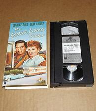 The Long, Long Trailer (VHS, 1990) Lucille Ball Desi Arnaz