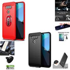 "Phone Case For LG Premier Pro Plus L455DL (6.1"") Brush Textured Cover"