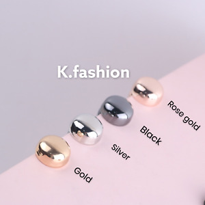 New Strong Magnetic Pin Brooch For Hijab Scarf Headscarf Shawl Round Gold Black
