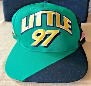 Vintage 90s Nascar Chad Little #97 John Deere Snapback Track Gear Hat NEW *rare*