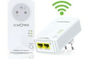 Kit CPL 500 Wifi i.t.works 4306023 neuf reconditionné 500MBPS