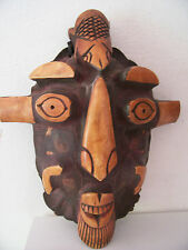old African mask. Masque africain africana arte african art tribal premier afric
