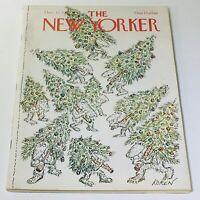 The New Yorker: December 12 1977 - Full Magazine/Theme Cover Ed Koren