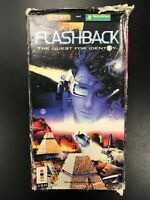 Flashback The Quest for Identity Panasonic 3DO Long Box Complete CIB SEE PHOTOS