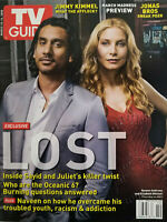 TV Guide  Magazine March 2008 LOST Sayid & Juliet Collector Cover  Near Mint