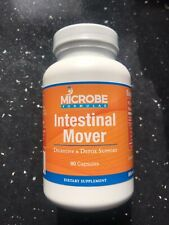 Microbe Formulas Intestinal Mover for Digestive and Detox support. 3 Bottles