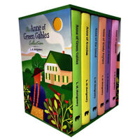 L. M. Montgomery Anne of Green Gables 6 Books Collection Box NEW Set