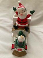 Vintage Christmas Howard Holt Santa XMAS EXPRESS Train Japan