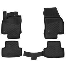 4 TAPIS CAOUTCHOUC SEAT ATECA A PARTIR 04/2016 SOL SPECIFIQUE 3D TPE