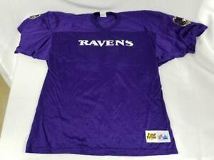 Mens Majestic Ravens Play Football Jersey #32 Ft. McDowell Purple Size 2XL