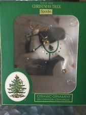 Spode Christmas Tree Reindeer Christmas Tree Ornament-New.! Mib