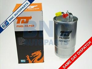 DIESEL FUEL FILTER for VAUXHALL CORSA D 1.3 CDti 70 & 90 From 2006 - TJ Filters