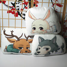 Anime BEASTARS legoshi Haru Cosplay Cushion Plush Pillow Doll Cool Toy Gifts