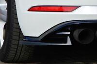 Heckansatz Seitenteile Cupwings für Golf 7 R Facelift aus ABS im eintragungsfrei
