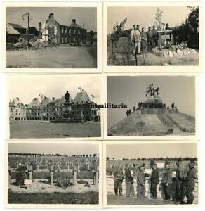 12x Orig. Foto Vormarsch in Frankreich Belgien 1940 Ardennen Verdun Maas