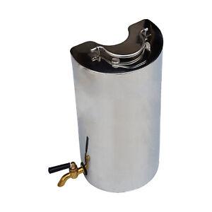 TAS STAINLESS STEEL FLINDERS STOVE FLASK OUTDOOR CAMP STOVE WARMER HEATER 2.2L