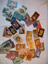 COLLECTIBLE lot of 44 Art, figurine, vase, 1 Elvis, etc. single playing cards