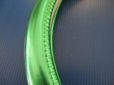 "15""38cm Chrome Style Light Green Vehicle Car Steering Wheel Cover"