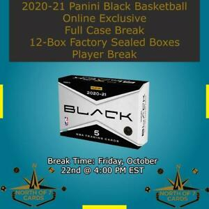 Fred VanVleet 2020-21 Panini Black Basketball 1X Case Break 12X Boxes