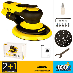 Mirka PROS 680CV 150 mm Central Vacuum 8.0mm Air Powered Random Orbital Sander