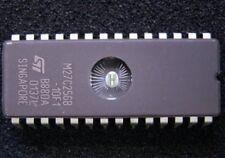 UV EPROM M27C256B-10F1 27C256 -12 M27C256-12 256K 32Kx8 100ns 28-Pin CDIP SGS