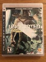 Uncharted: Drake's Fortune Sony PlayStation 3, 2007 PS3 Video Game Complete