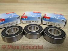 ORS 6001C3 03 04 6001 2RS C3 G93 Roller Bearings (Pack of 3)