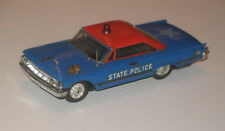 Ideal Motorific Mercury Police Cruiser with chassis and motor
