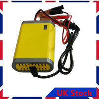 Smart Automatic 12V 2A Battery Charger Maintainer Trickle for Car Motorcycle UK-