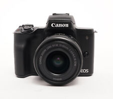 Canon EOS M50 Mirrorless Digital Camera with 15-45mm f/3.5-6.3 IS STM Lens