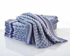 10-er Pack Grubentuch Allzwecktuch Küchenhandtuch Baumwolle 50x100 cm blau