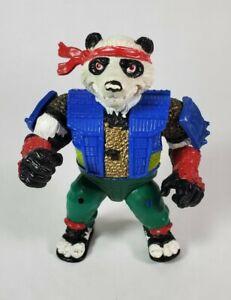 Rare Vintage Teenage Mutant Ninja Turtles TMNT Panda Khan The Samurai - 1990