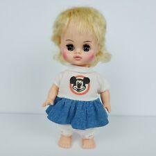 Vintage Horsman Mouseketeer Doll Blond Girl Sleepy Eyes Movable Vinyl Plastic