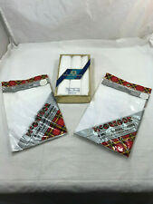 Nos Vintage Lot Of 11 New Men's White Handkerchiefs Hankies McGregor Pa