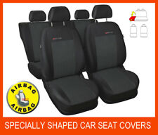 SPECIALLY SHAPED CAR SEAT COVERS for FORD FOCUS Mk1 Mk2 (1998 - 2010) FULL SET