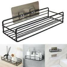 Bathroom Shelf Storage Rack Organizer Wall Shelf Adhesive Iron Kitchen Shelve