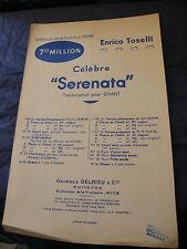 Enrico Toselli Serenata Partizione Music Sheet