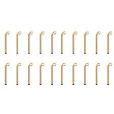 20pcs Fishing Rod Guides Tip Repair Kit Eye Ring Rod Building Diy 0.9/1.0mm