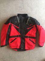 MENS Cordura Textile Motorbike Motorcycle Armoured Jacket size L Brand New