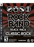 Rock Band Track Pack: Classic Rock Ps3 Game PlayStation 3 Rare Collectible