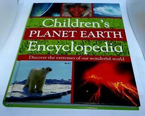 CHILDREN'S PLANET EARTH ENCYCLOPEDIA Hard Back