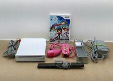 Console Wii avec  Manette + Nunchuck  Jeu Câbles d'alimentation ...