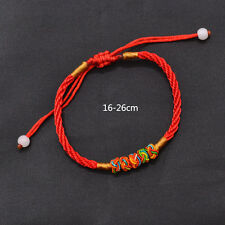 Colourful Chinese Lucky Red Thread Good Luck Rope Feng Shui Bracelet Unisex