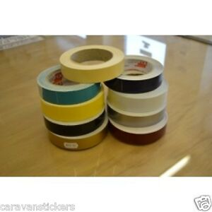 Narrowboat COACHLINE 25mm x 25mtrs Striping Stickers Decals Graphics SINGLE ROLL
