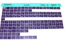 Microfich repuestos lista _ GL 1500 C _ gl1500 C _ Valkyrie _ año de fabricación 1997
